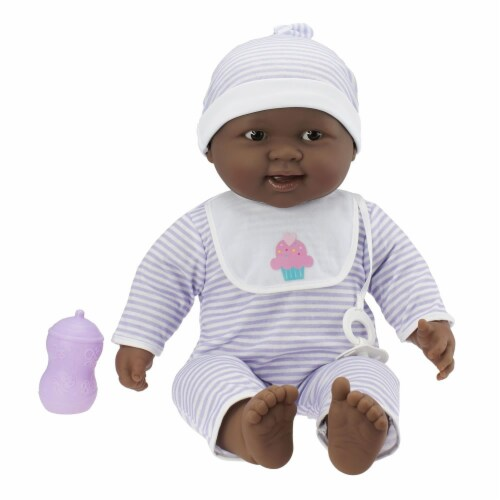 JC Toys Lovable 20  African American Baby Designed by Berenguer Perspective: front