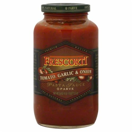 Frescorti Tomato Garlic and Onion Pasta Sauce Perspective: front