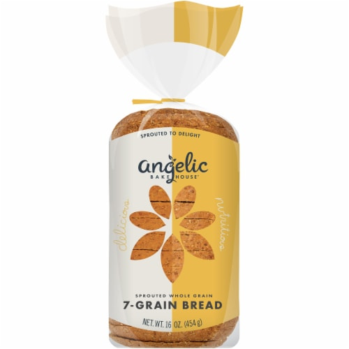 Angelic Bakehouse Sprouted Whole Grain 7-Grain Bread Perspective: front