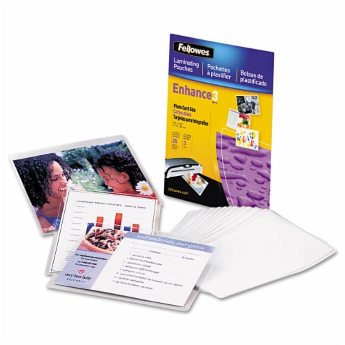 Fellowes Premium Laminating Pouch 5208301 Perspective: front