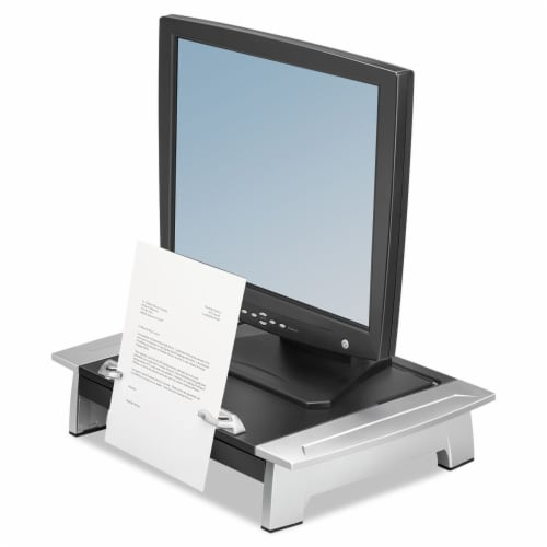 Fellowes Riser,Monitor,Laptop,Bk 8036601 Perspective: front