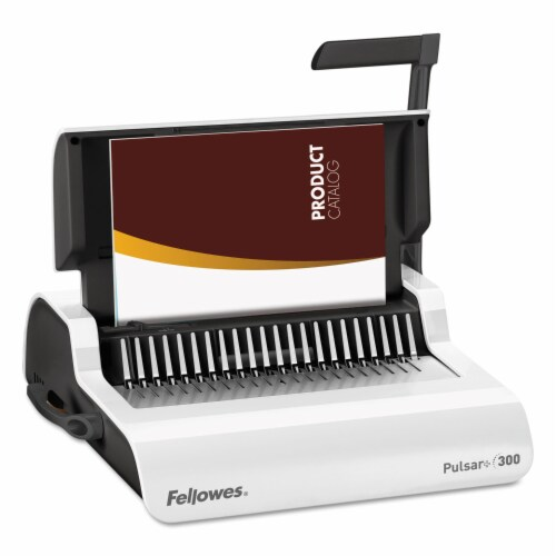 Fellowes Pulsar Manual Binding Machine 5006801 Perspective: front