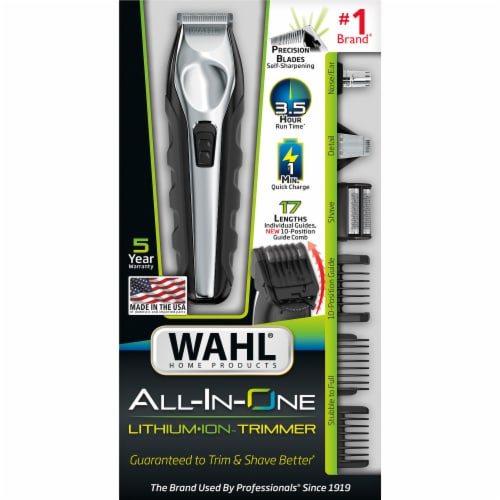 Wahl All-In-One Lithium Ion Trimmer Perspective: front