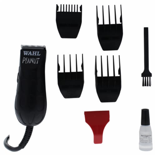 WAHL Professional Peanut  8655200  Black Trimmer 1 Pc Kit Perspective: front