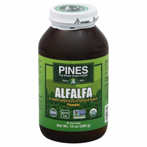 Pines Alfalfa Powder Perspective: front