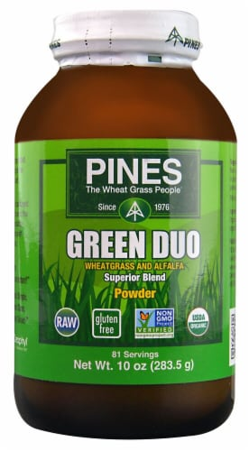 Pines International  Green Duo Powder Perspective: front