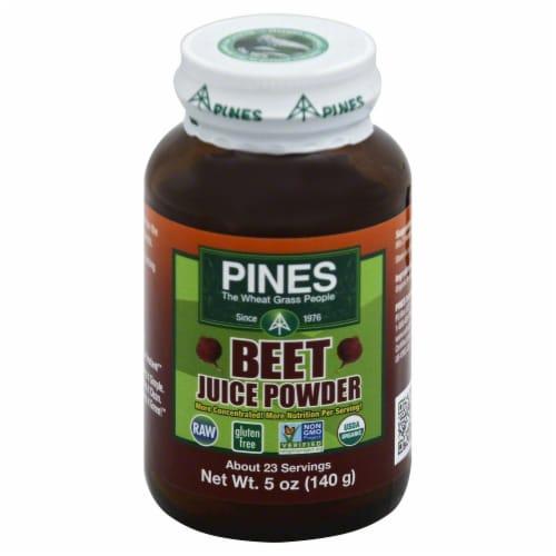 Pines Beet Juice Powder Perspective: front