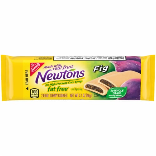 Newtons Fat Free Chewy Fig Cookies Perspective: front