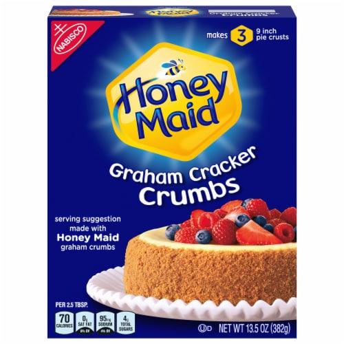 Honey Maid Graham Cracker Crumbs Perspective: front