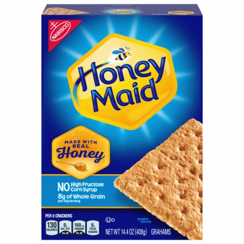 Honey Maid Graham Crackers Perspective: front