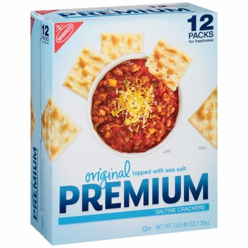 Nabisco Original Premium Saltine Crackers (48 Ounce) Perspective: front