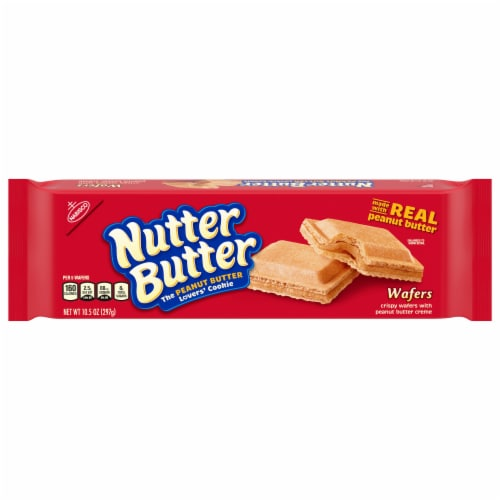 Nutter Butter Peanut Butter Creme Wafers Perspective: front