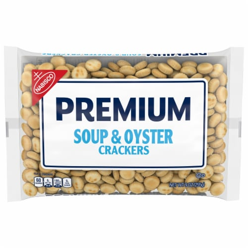 Premium Soup & Oyster Crackers Perspective: front