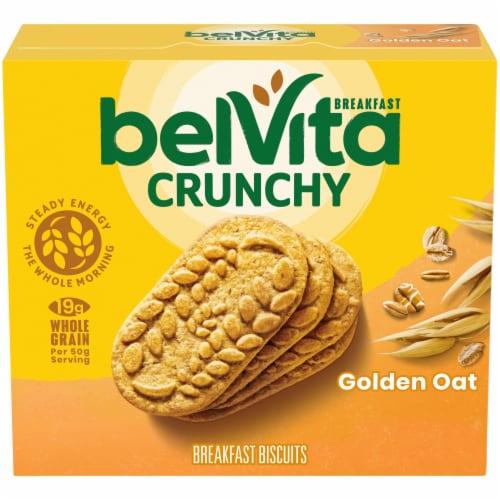 belVita Golden Oat Breakfast Biscuits Perspective: front