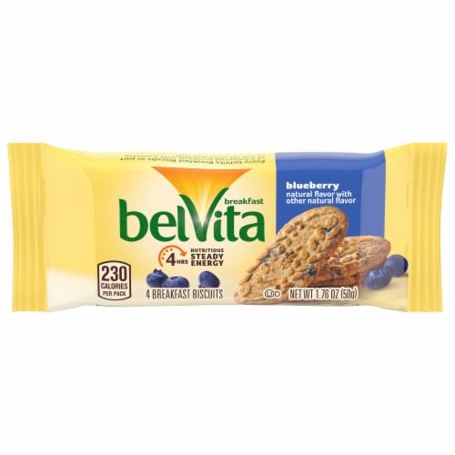 belVita Blueberry Breakfast Biscuits Perspective: front