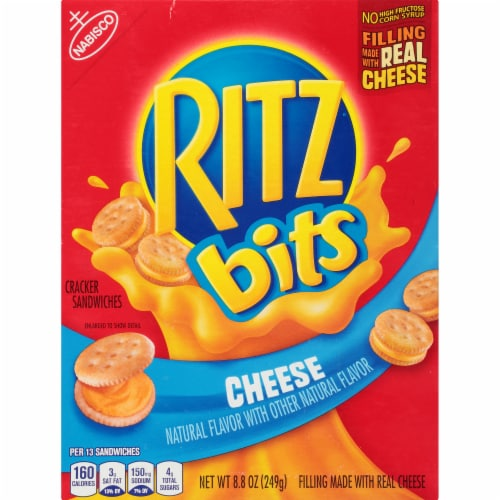 Ritz Bits Cheese Cracker Sandwiches Perspective: front