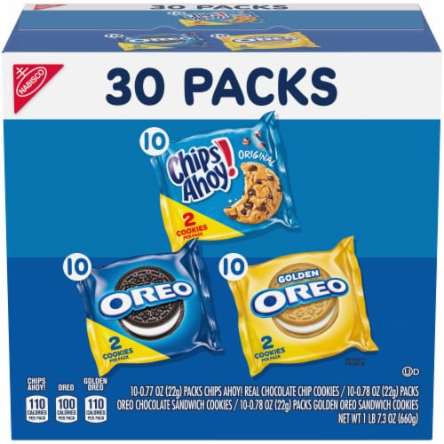 Nabisco Sweet Treats Cookies Variety Pack Perspective: front