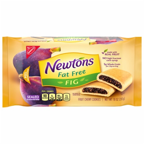 Newtons Fat Free Fig Fruit Chewy Cookies Perspective: front