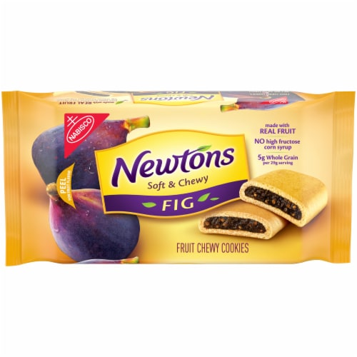 Newtons Fig Fruit Chewy Cookies Perspective: front