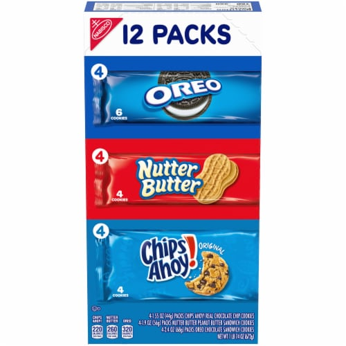 Nabisco Sweet Cookies Variety Pack Perspective: front