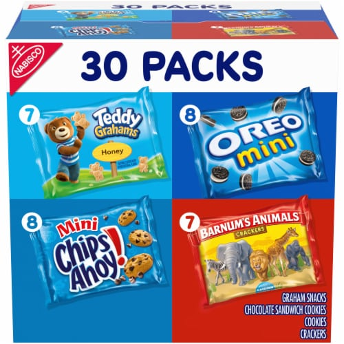 Nabisco Team Favorites Snack Multipack Perspective: front