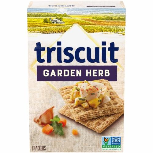 Triscuit Garden Herb Crackers Perspective: front