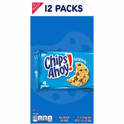 Chips Ahoy! Original Chocolate Chip Cookies Multi-Pack Perspective: front
