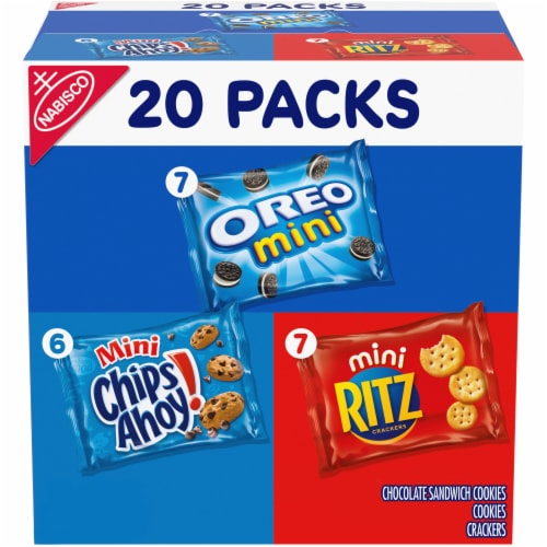 Nabisco Sweet & Savory Snacks Mix Perspective: front