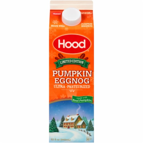 Hood Limited Edition Pumpkin Eggnog Perspective: front