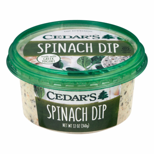 Cedar's Spinach Dip Perspective: front