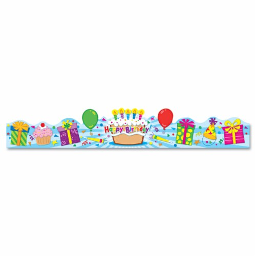 CARSON-DELLOSA PUBLISHING, Student Crown, Birthday, 4 x 23 1/2, Perspective: front