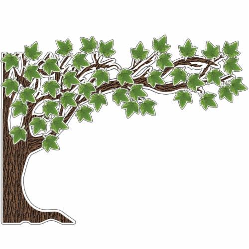 Carson Dellosa Education Woodland Whimsy Bulletin Board Set 110423 Perspective: front