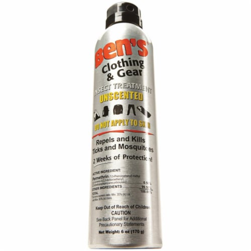 Bens 0006-7600 Clothing & Gear 6 Oz Insect Repellent Perspective: front