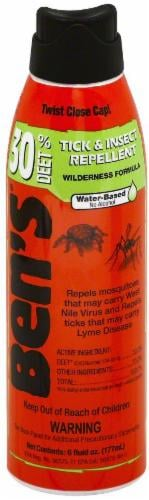 Ben's® Water-Based Wilderness Formula Tick & Insect Repellent Perspective: front