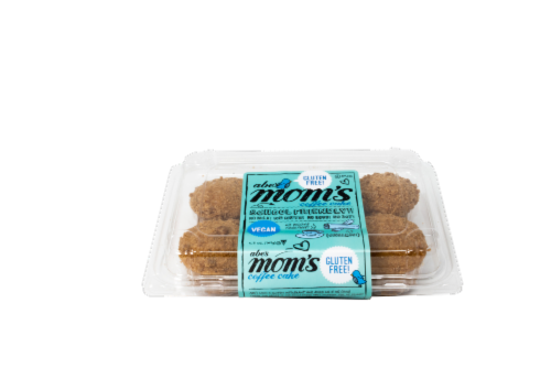 Abe's Mom's Coffee Cake Gluten Free Vegan Muffins Perspective: front