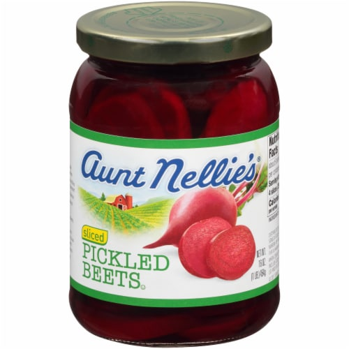 Aunt Nellie's Sliced Pickled Beets Perspective: front