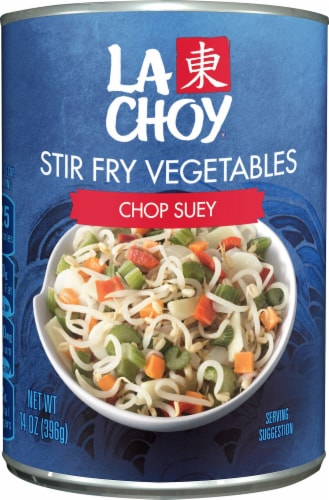 La Choy Chop Suey Vegetables Perspective: front
