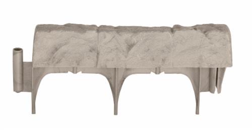 Suncast Borderstone Edging - Stone Perspective: front