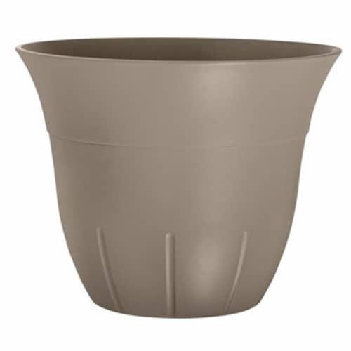 Suncast 1611J4 Belliveau Bell Shaped Planter - Java Perspective: front
