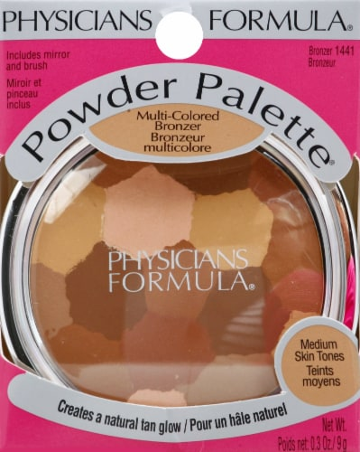 Physicians Formula 1441 Multi-Colored Bronzer Powder Palette Perspective: front