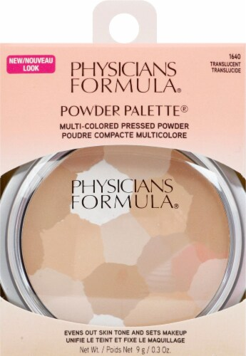 Physicians Formula 1640 Multi-Colored Pressed Powder Palette Perspective: front
