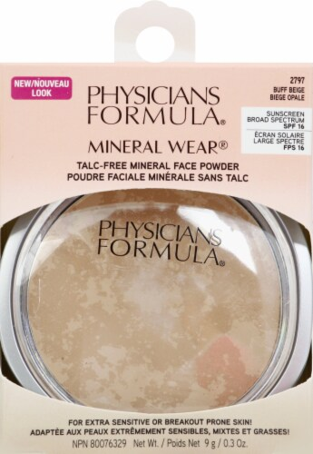 Physicians Formula Mineral Wear Face Powder - Buff Beige 2797 Perspective: front