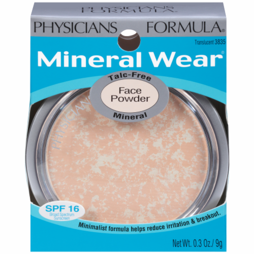 Physicians Formula Translucent Face Powder Perspective: front