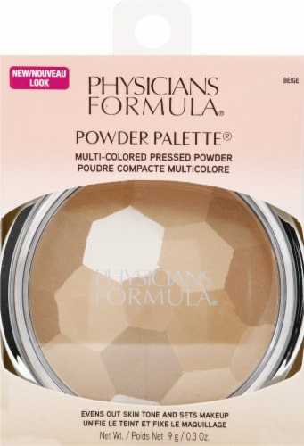 Physicians Formula 3868 Beige Powder Palette Perspective: front