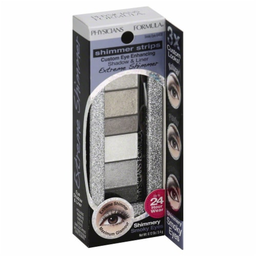 Physicians Formula Shimmer Strips Shadow & Liner Smoky Eyes 6408 Perspective: front
