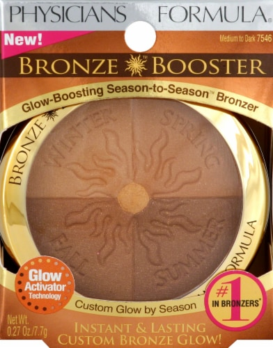 Physicians Formula Bronze Booster Medium to Dark Perspective: front