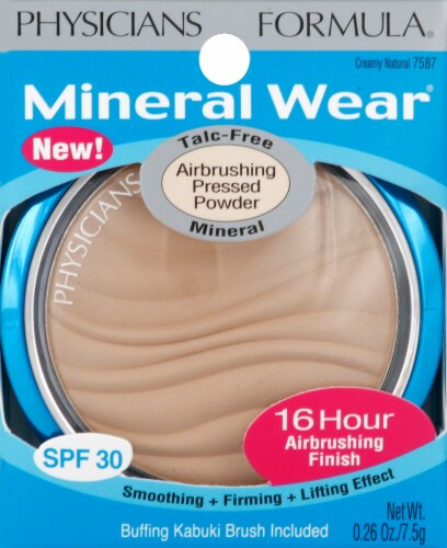 Physicians Formula Mineral Wear Airbrushing 7587 Creamy Natural Pressed Powder Perspective: front