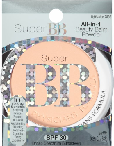 Physicians Formula Light/Medium 7836 Super BB All-in-1 Powder Perspective: front