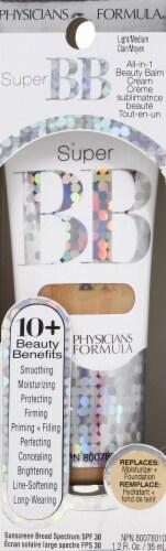 Physicians Formula Super BB 7867 Light/Medium All-in-1 BB Cream Perspective: front