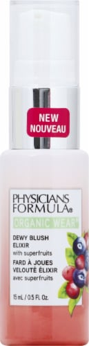 Physicians Formula Organic Wear Apricot Glow Dewy Blush Elixir Perspective: front